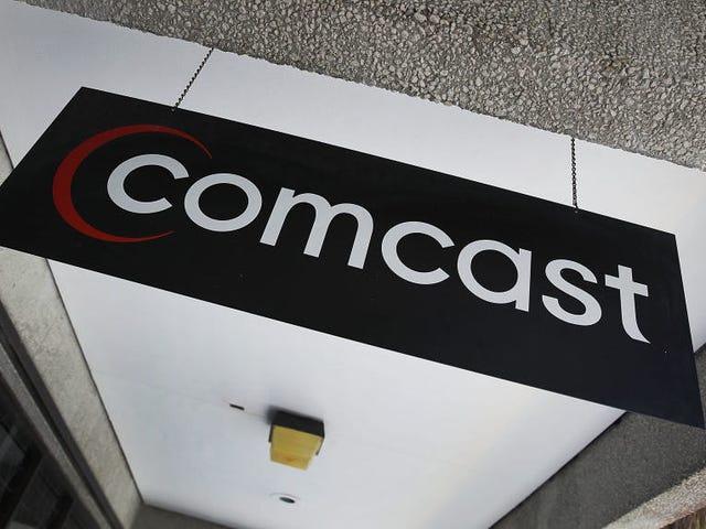 Comcast blâme l'arrêt national sur 'Fiber Cut'