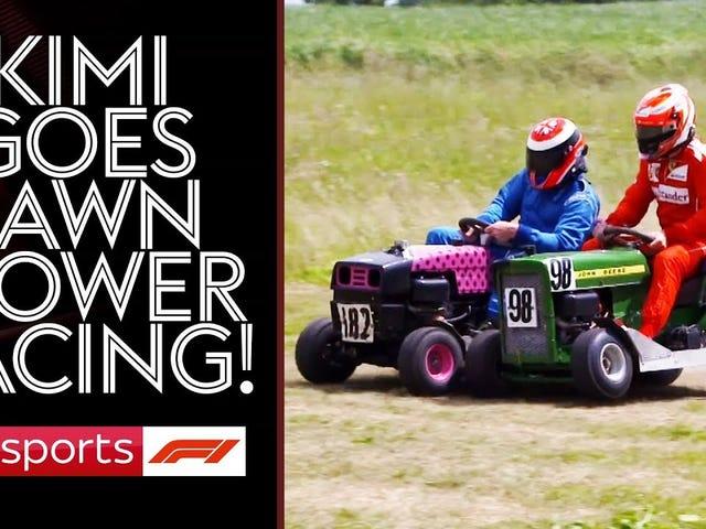 F1 off-season blues