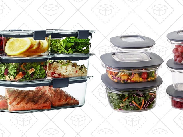 Rubbermaid's Best Food Storage Systems Are 25% Off For Prime Members