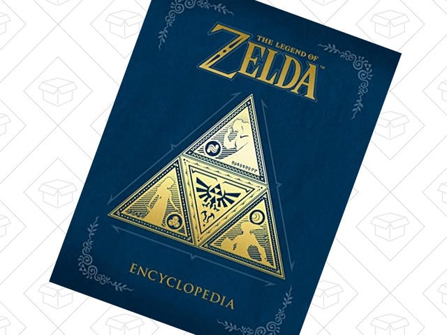 The Legend of Zelda EncyclopediaIs Back Down To Its Best Preorder Price