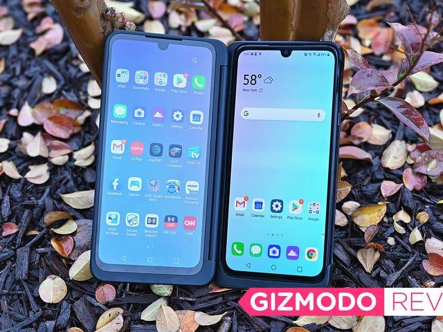 Ang G8X Dual Screen Telepono ng LG ay Nagbibigay sa iyo ng Karamihan sa Screen Para sa Iyong Pera