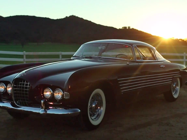Rita Hayworth's Cadillac Ghia uit 1953 is de essentie van Classiness