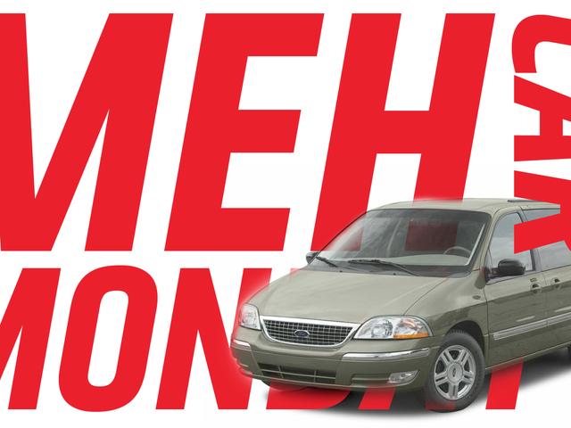 Meh Car Lunes: Ang Ford Windstar Nagpapatunay Meh-ness Ay Tulad ng Entropy