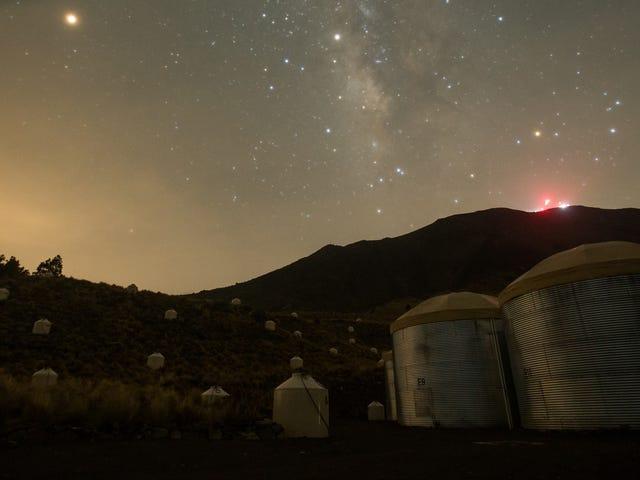Cómo unos depósitos de agua en lo alto de un volcán en México ayudarán a resolver los misterios del Universalo