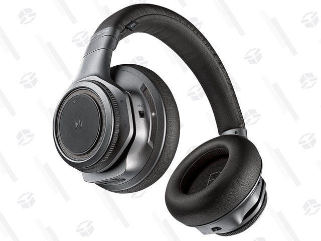Block Out the World With $40 Off These Plantronics Noise Canceling Headphones
