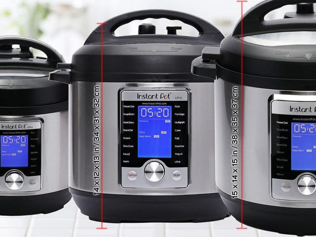 The Small Instant Pot Should Fit Inside the Regular Instant Pot: A Modest Proposal