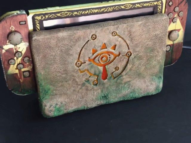 That Is One Fancy Zelda-Themed Switch
