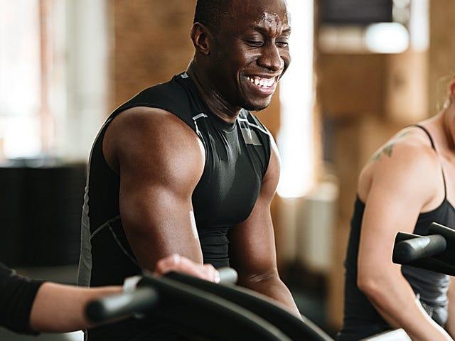 Hur man pratar med människor på gymmet