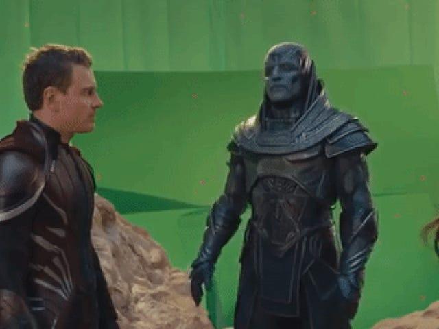 Las tomas falsas de <i>X-Men: Apocalypse</i> demuestran la estupenda comedia que podría haber sido