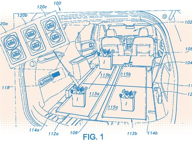 Ford Patents Conveyor Belts for SUV Cargo Areas Jadi Anda Tidak Perlu Merangkak dan Mungkin Menunjukkan Punggung Anda kepada Semua Orang