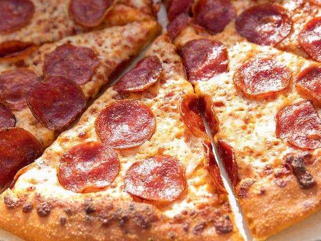 Doe geen bouncer met een stuk pizza, Ya Bitch