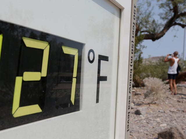 California's Death Valley Will Have the Hottest Month Ever Recorded on Earth