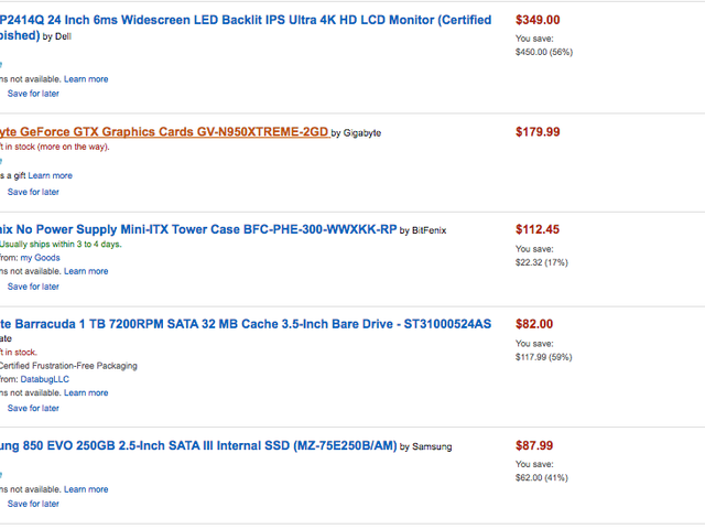 I am considering making a small hackintosh that I could fit into a suitcase (minus monitor) instead of a new laptop.