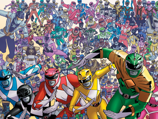 25 Years of Power Rangers Are Uniting for Their Next Comic Crossover