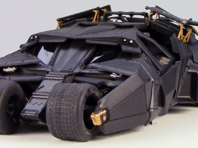 Video Review: Eaglemoss Batman Bat Tumbler 1:43 schaal