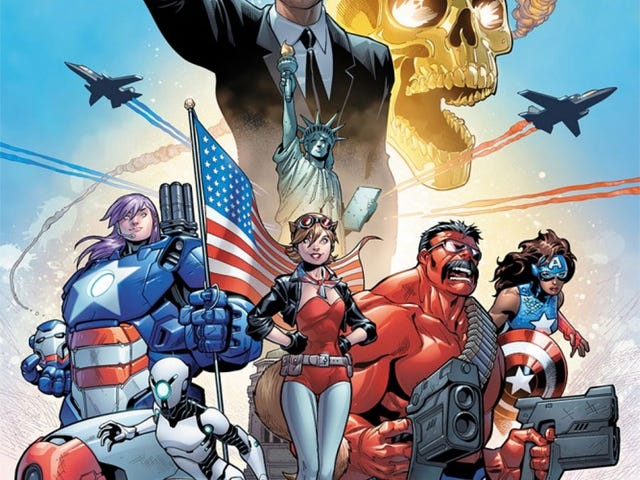 The New Avengers Go Patriotic and Become the U.S.Avengers