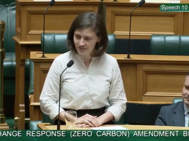 Hero Politician Shuts Down Heckler With 'OK Boomer' During Climate Speech in New Zealand