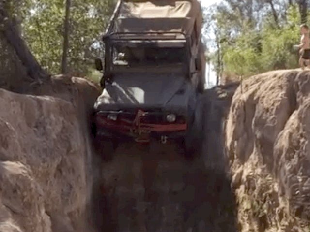 Gunshot Creek Is One of the World's Wildest Looking Off-Road Obstacles