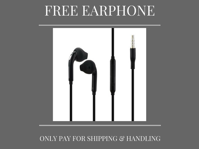 Free 3.5mm Earphone