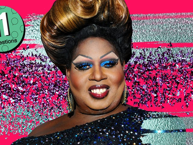 Drag performer Latrice Royale is an expert bong architect