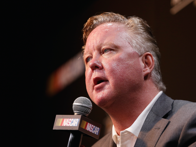 NASCAR CEO Brian France Got Pretty Defensive About His Diversity Efforts