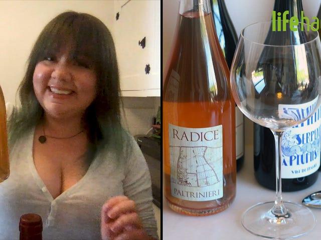 Às vezes, o melhor coquetel é um copo de vinho