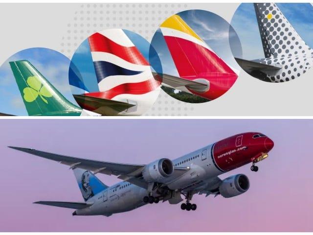Es wird gemunkelt, dass die IAG Norwegian Air kauft.  Zwei Stützpunkte in Spanien werden geschlossen, die Flotte und die Belegschaft werden verkleinert ...