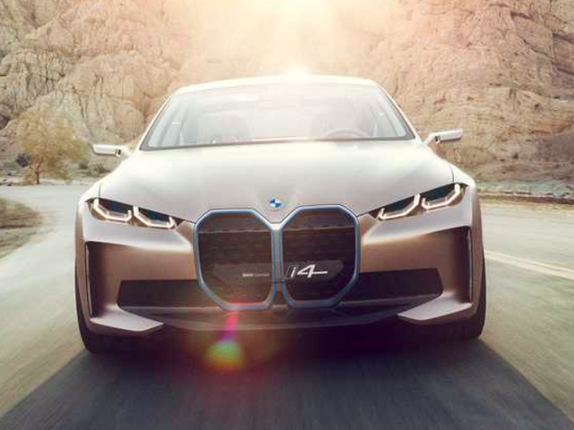 The BMW Concept i4 Is Our Closest Look Yet At BMW's Main Weapon Against Tesla