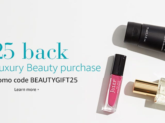 Get $25 Towards Your Next Amazon Luxury Beauty Purchase When You Spend $50