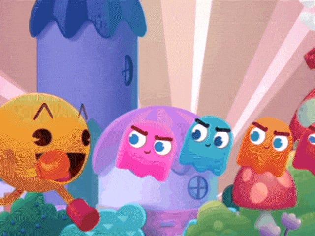 Virkeligt at grave denne nye <i>Pac-Man</i> Design
