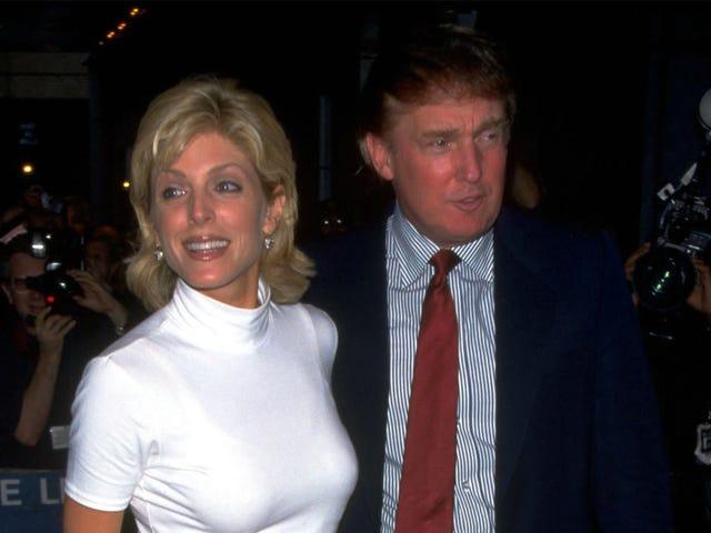 Trump soll Marla Maples via FedEx abgeladen haben