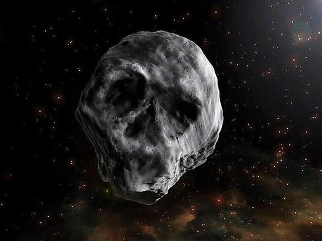 En 2018 regresa a la Tierra este asteroide con forma de cráneo humano que, además, es un cometa muerto
