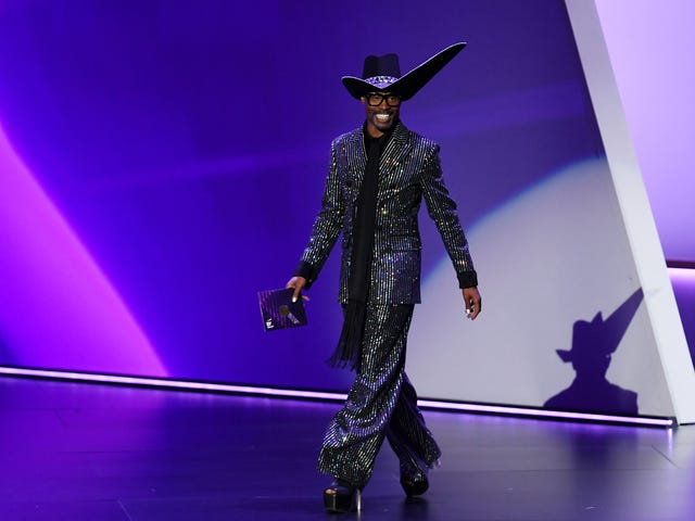 There Was but One Creative Gawd Who Smote All Others in 2019. Mr. Billy Porter Is Kuumba Personified