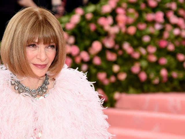 'We Have Made Mistakes Too': Anna Wintour Apologizes for Vogue's Treatment of Black Talent
