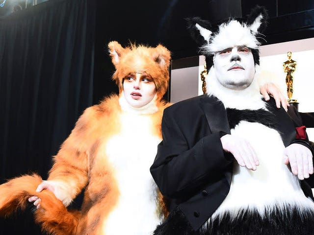Visuelle effekter Samfundet er ret til at fordømme, at Oscars-katte vittighed ... men alligevel er det katte