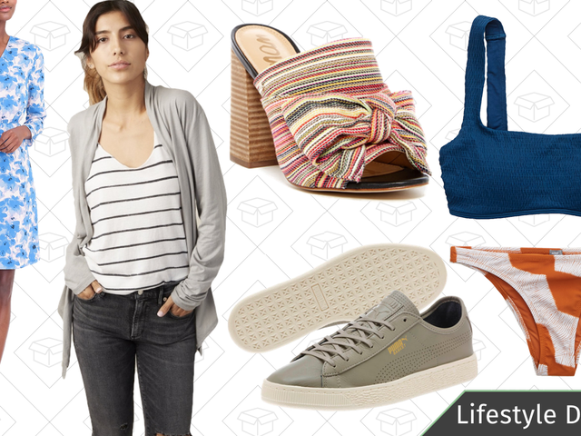 Tuesday's Best Lifestyle Deals: Aerie Swimwear, Pop Chart Lab, PUMA, J.Crew Factory, and More