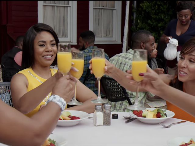 25 Things Overheard When Watching Girls Trip In a Hotel Room Full of Men During a Bachelor Party in New Orleans