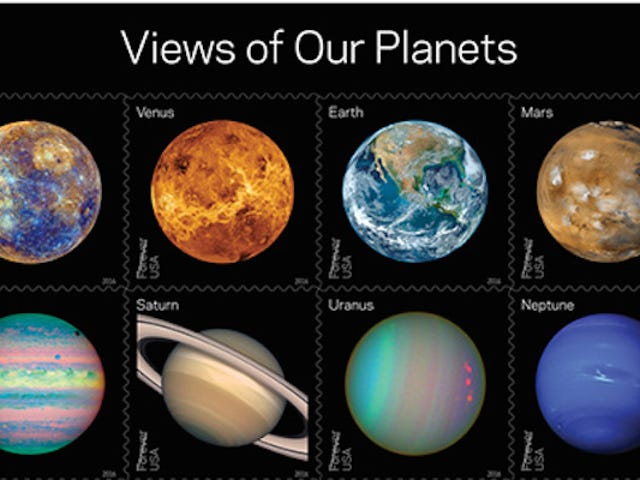 These New Space Stamps Are Almost Cool Enough toMake Me Want to Send a Letter