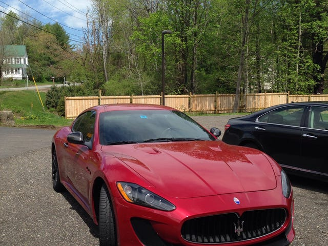 My car is driving fantastic right now...have a Maserati