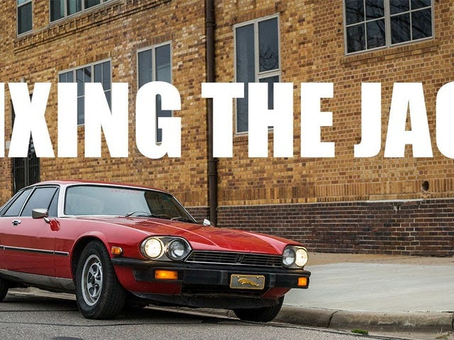 FnL Video: Fixing the Jag! Driveshaft replacement