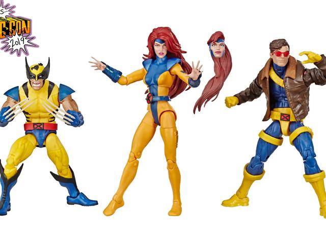 Angka-angka Legenda X-Men ini kelihatan seperti mereka melangkah keluar dari TV 90-an