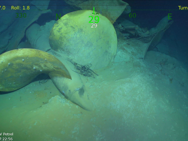 Sunken US Warship Found 76 Years After Infamous WWII Tragedy