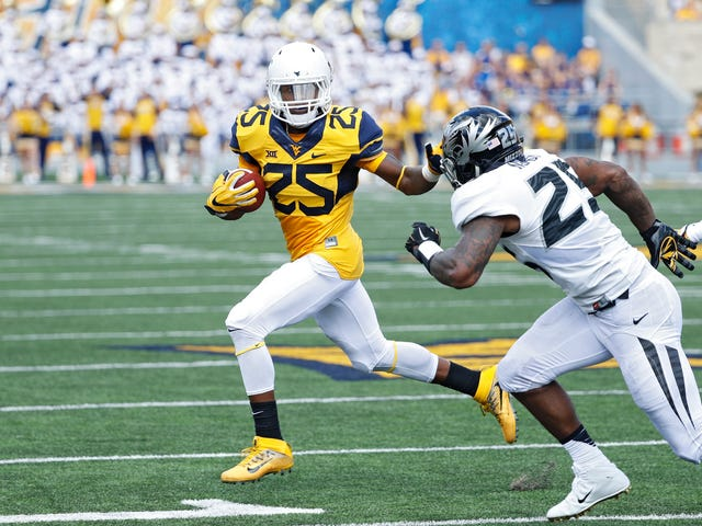 Ex-West Virginia University Running Back Charged With Incest and Sodomy of 12-Year-Old