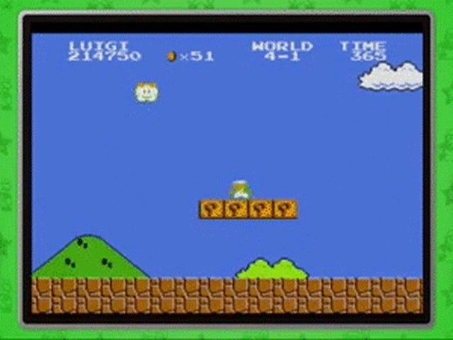 Super Mario fonctionne de gauche à droite parce que notre cerveau le dit bien