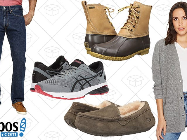 Have Your Own Holiday With Zappos' Winter Sale