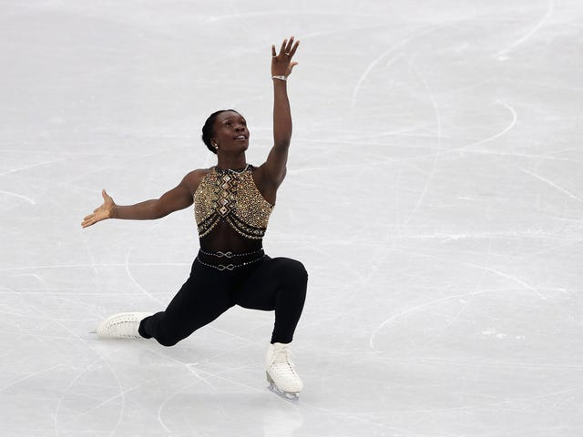 French Figure Skater's Beyoncé Routine Gives Us #BlackGirlMagic on Ice