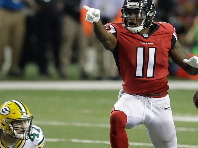 Julio Jones And The Falcons Ran All Over The Packers