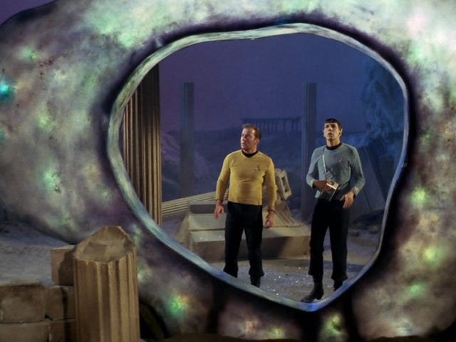 A Script Outline Shows How Star Trek: The Next Generation Almost Had Its Own Young Spock