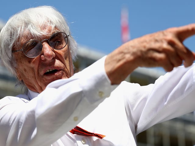 Sorry! Bernie Ecclestone Is Sticking Around After All