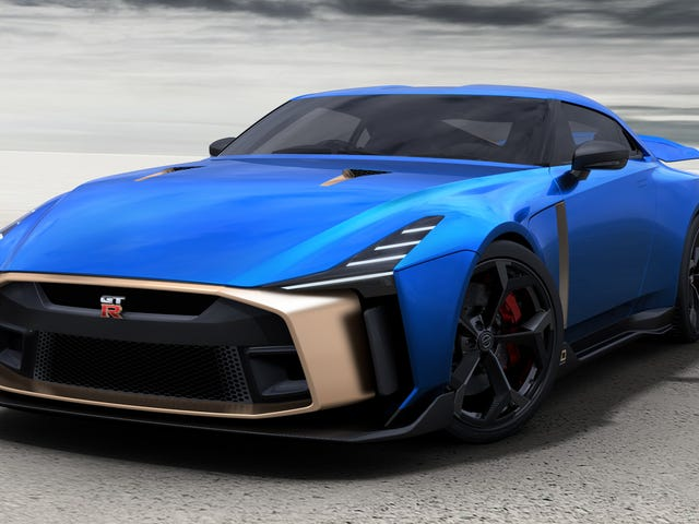 The Nissan GT-R50 by Italdesign Gets Green Lit for 50 Cars at $1.1 Million Each